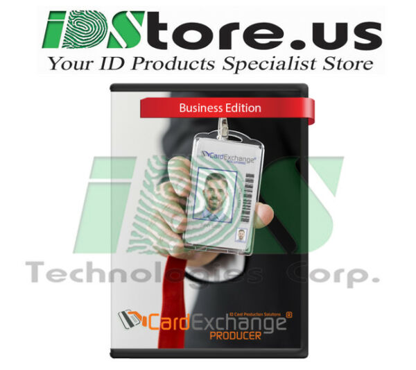 New CardExchange Producer v. 10 Business Edition ID Card Software (CP1060)