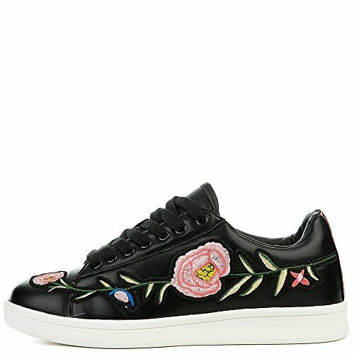Cape Robbin Future Floral Designer Lace Up Ace embroidered sneaker CLR/Size Avai