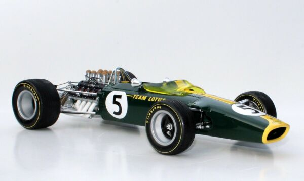 1967 Lotus 49 Jim Clark 1:12 & Display Cover Automodello 12C010