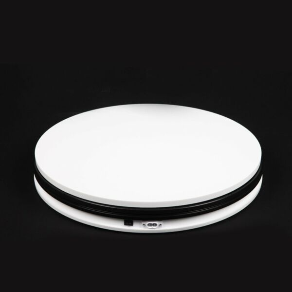 360° 45CM Electric Motorized Display Stand Rotating Turntable 3D For exhibition