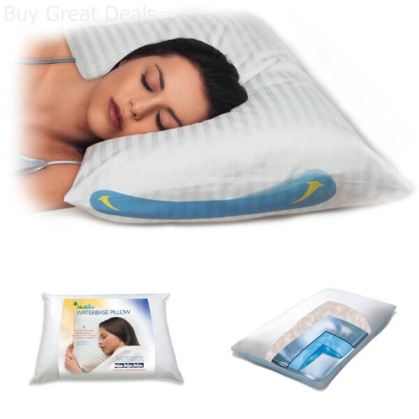 Cervical Neck Back Pain Water Pillow Anti Snoring Spine Alignment Therapeutic $88.99