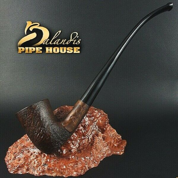 BALANDIS HAND MADE BRIAR wood TOBACCO smoking pipe