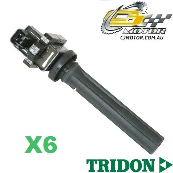 TRIDON IGNITION COIL x6 FOR Suzuki Vitara SV 0495-1298 V6 2.0L H20A