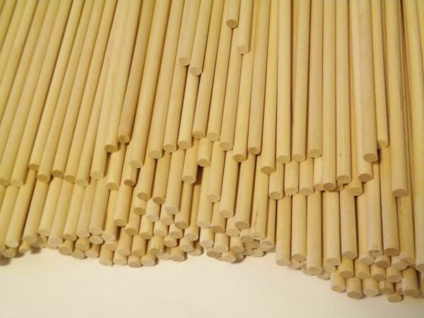 Wooden Dowels Rods (Natural Birch Wood) 14