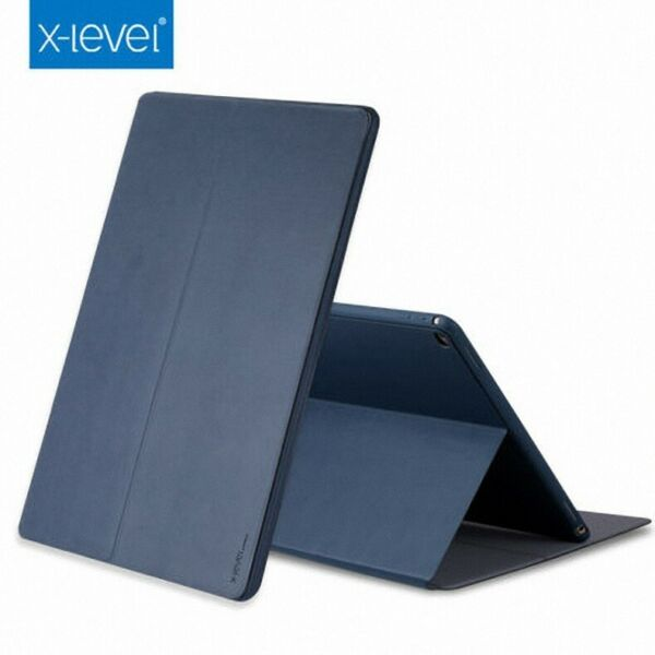Genuine X-Level Leather Slim Flip Case Stand Cover For iPad Pro 9.710.5 2018