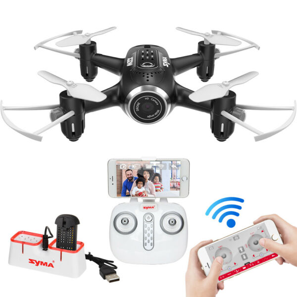 Syma X22W Pocket Drone HD Camera WIFI FPV RC Mini Gyro Helicopter Quadcopter