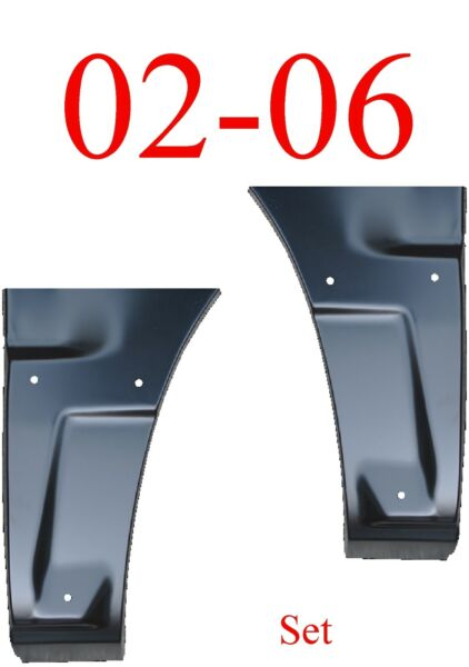 With Cladding Chevy Avalanche 02 06 Dog Leg Set Quarter Panel Repair Patch $119.00