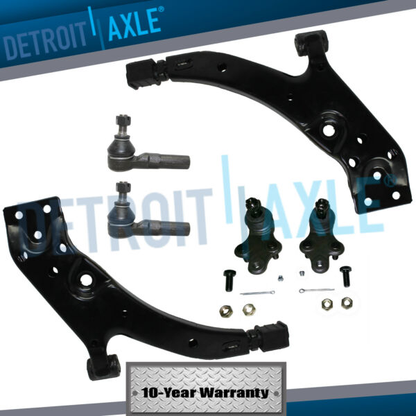 Front Lower Control Arm Ball Joint Outer Tie Rods for 1991 - 1997 Paseo Tercel