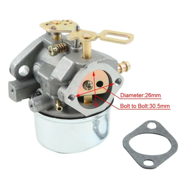 Carburetor for Tecumseh HMSK80 HMSK90 8HP 9HP 10HP Engine 640349 640052 640052