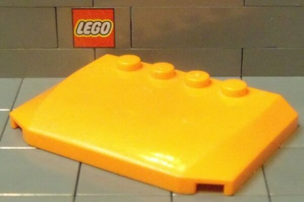 LEGO: Curved Car Roof 4 x 6 x ⅔ #52031 Choose Your Color $1.10