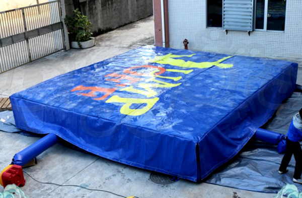 35x35x8 Commercial Inflatable Stunt Airbag Fall Air Bag Landing We Finance 100%