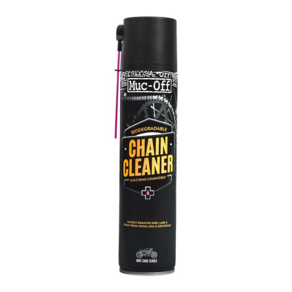 Muc Off Quick Drying Chain Cleaner 400ml Stage 1 Motorcycle Cleaner M650 GBP 8.95