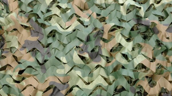 Woodland Camouflage Netting Military Army Camo Hunting Cover Net 26ft x 26ft