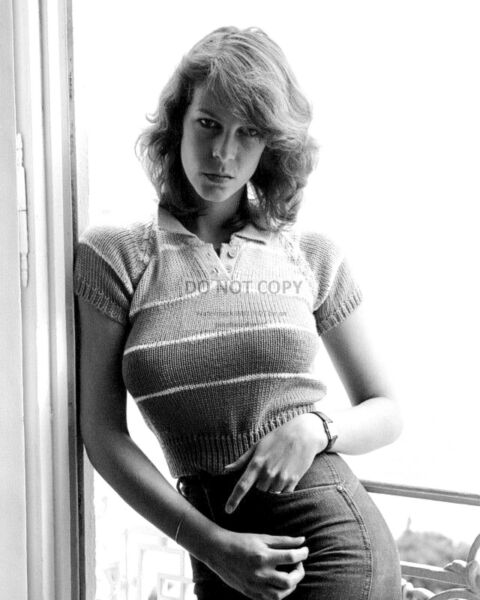 ACTRESS JAMIE LEE CURTIS - 8X10 EARLY PUBLICITY PHOTO (ZZ-957)