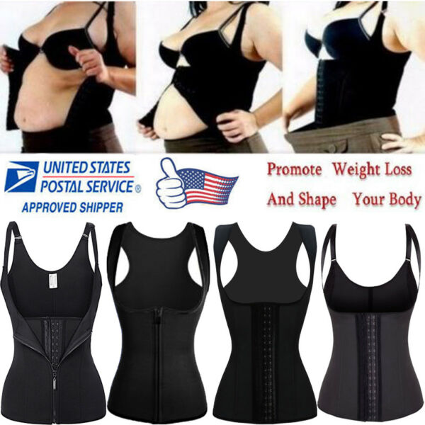 US Fajas Reductoras Colombianas Body Shaper Slim Waist Cincher Corset Shapewear