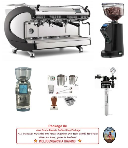 Simonelli Espresso Machine Coffee Shop PACKAGES + TRAINING + FREE INSTALLATION!