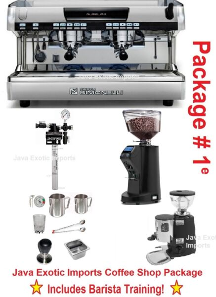 Simonelli Aurelia VOL Espresso Machine Coffee Shop PACKAGE + TRAINING + INSTALL