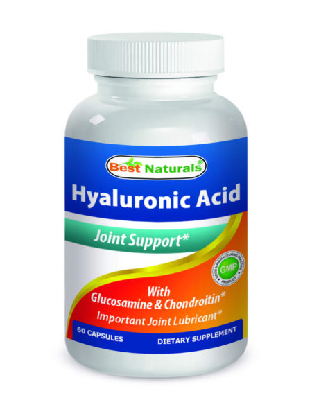 Best Naturals, Hyaluronic acid 100 mg 60 Capsules *Joint Health*
