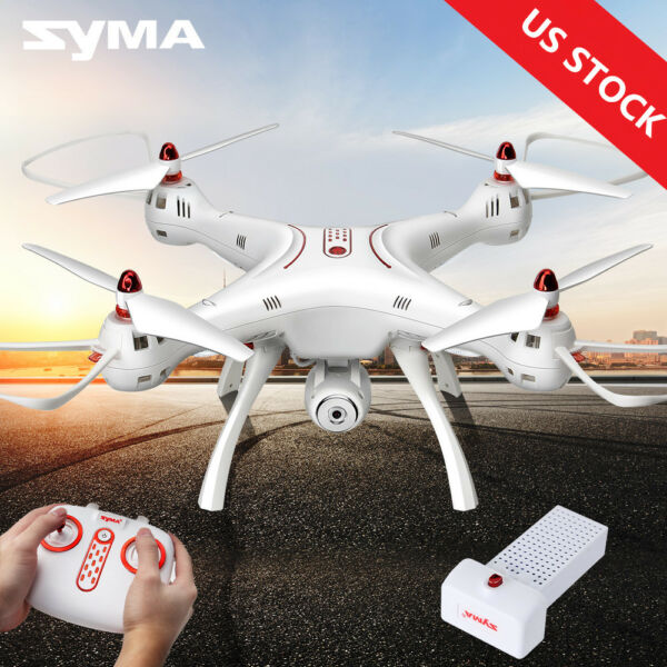 Syma X8SC 2.4G 6Axis Drone with 2.0MP HD Camera Hover RC Quadcopter US STOCK