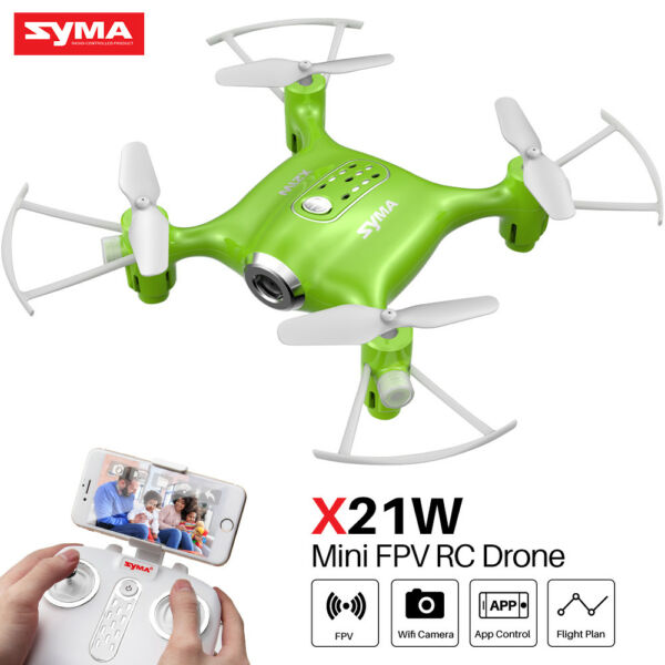 Mini WIFI FPV Quadcopter Syma X21W RC Nano Camera Live Video Selfie Pocket Drone