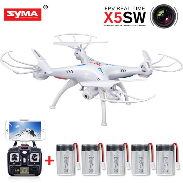 Syma X8SC 2.4G 4CH 6Axis Gyro Headless RC Drone with HD Camera RC Quadcopter RTF