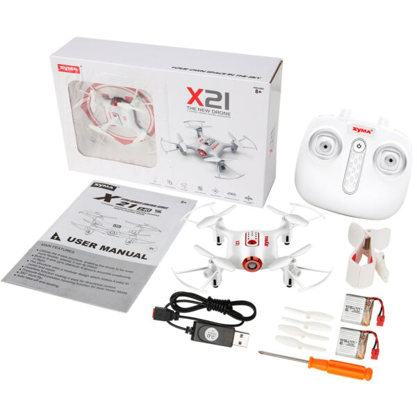 SYMA X8SC 2.4G Remote Control HD Camera Drone RC Quadcopter +3 Batteries US SHIP