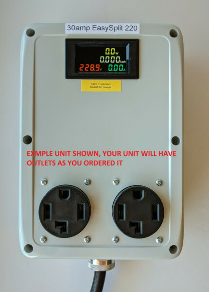 Dryer Buddy™ #2 – 240v outlet splitter for Electric Vehicle Charging Station