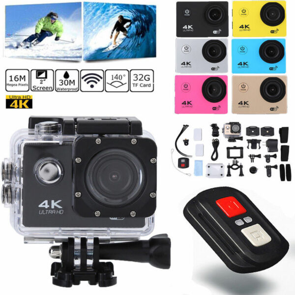 SJ9000 Wifi 4K 1080P Ultra HD Sports Action Camera DVR Cam Camcorder Waterproof