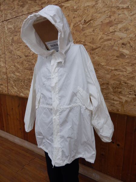 Military Snow Camouflage White Camo Winter Jacket Coat Parka XL good cond