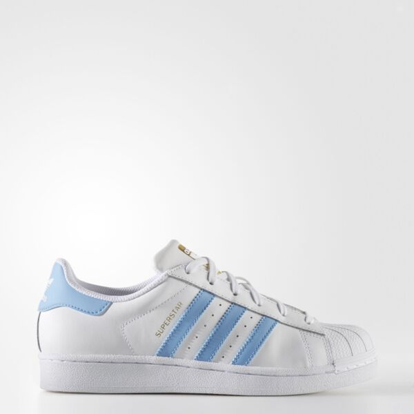 New adidas Originals Superstar Shoes BY3723 Women's White Sneakers