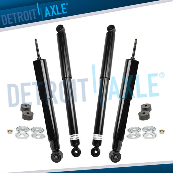 Front and Rear Shocks Absorber for Chevy Silverado GMC Sierra 1500 2500 HD