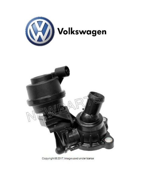 For VW Touareg 2012-2016 Coolant Thermostat Bypass Genuine 059121737AM
