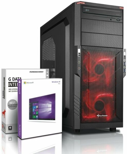 Ultra i7 DX12 Gaming-PC Computer i7 950 - GeForce GTX 1050 - Win10 - 8GB - 500GB