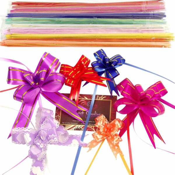10x Multi Listing of Butterfly Pull Bows! 12 - 50mm PullBows Florist Craft