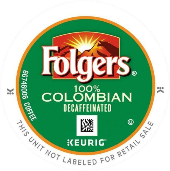 Folgers Gourmet Selections Lively Colombian Decaf Coffee K-Cups - 120 Count