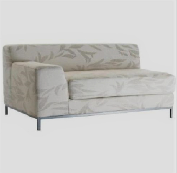 Original SLIPCOVER for KRAMFORS Left Hand Loveseat from IKEAKvilla Natural NEW $139.99