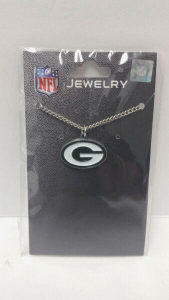 Green Bay Packers Necklace Officially Licensed NFL Merchandise