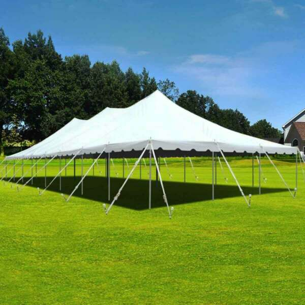 30x80' Premium Pole Tent Wedding Event Canopy Waterproof Commercial Marquee