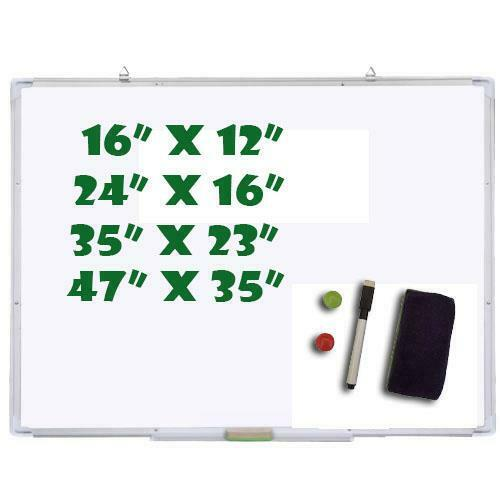 Markers Pen Eraser Large Medium Small Magnetic Dry Wipe Erase White Board Office