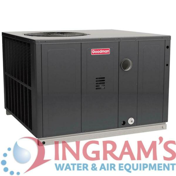 4 Ton 14 SEER 100k BTU Goodman Heat Pump & Gas Package Unit - Multiposition