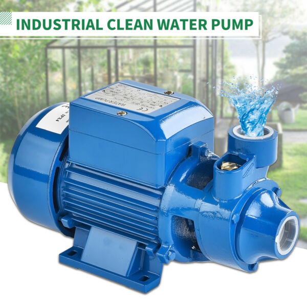 12HP 370W Electric Industrial Centrifugal Clear Clean Water Pump Pool Pond Farm