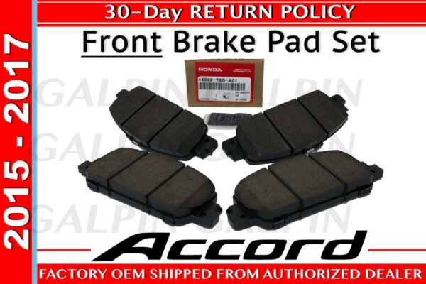 Honda OEM Genuine 2013-2017 Honda ACCORD Front Brake Pad Set  (45022-T2G-A01)