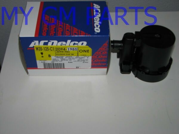 GM Purge VENT Solenoid ACD 214-2324 MAY REQ HARNESS 19257603 NEW OEM 20941985