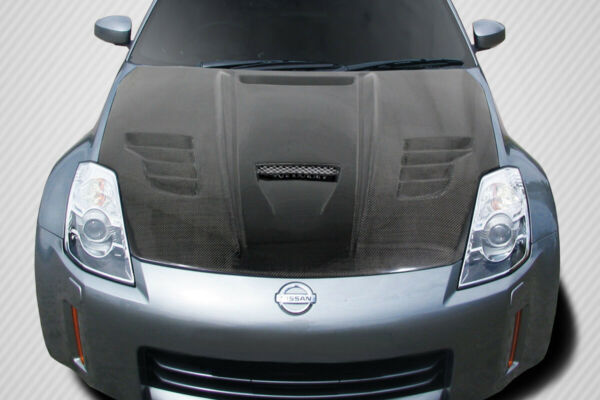 03 06 Fits Nissan 350Z Vader Carbon Creations Body Kit Hood 113641 $784.00