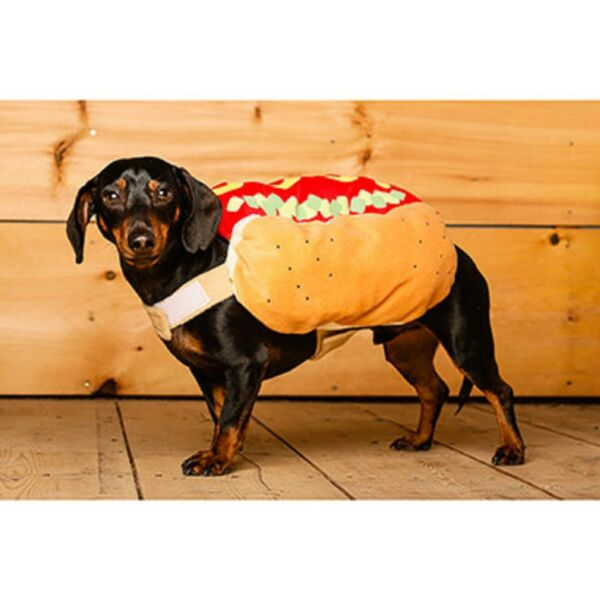 NEW Bailey amp; Bella Hot Dog Dog Costume NWT XS One Piece Halloween Plushy $16.95