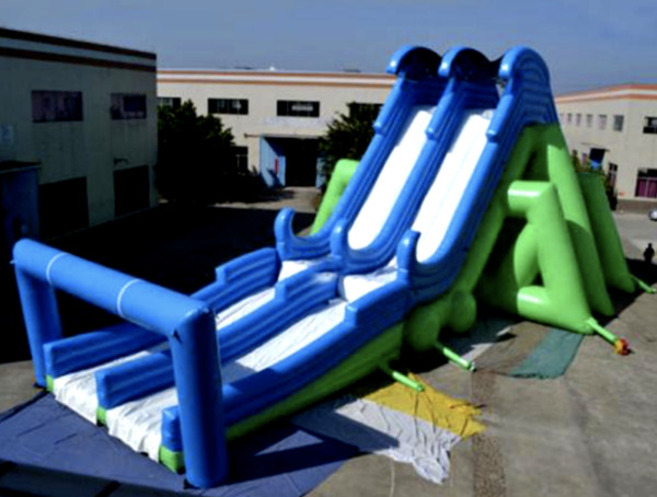 170'x50'x50' Commercial Inflatable Water Slide & Pool Free Fall Jump We Finance