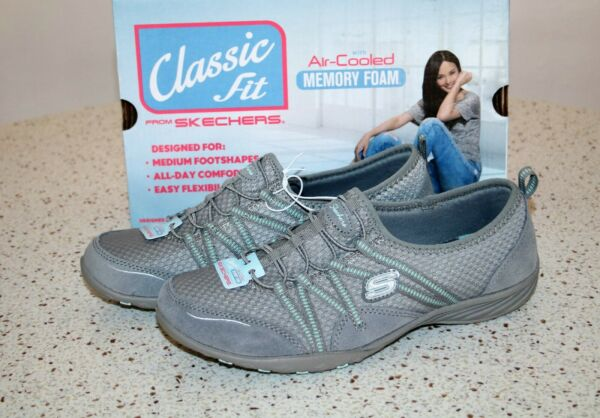 NWB Skechers Air-Cooled Memory Foam Women's Sneakers Synergy Look Book