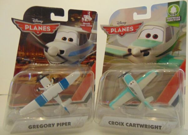 Disney Planes Croix Cartwright Gregory Piper Diecast Plane 1:55 Scale Brand New