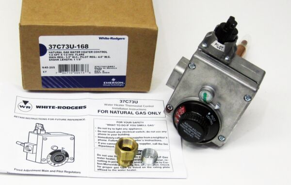 Water Heater Gas Thermostat White Rodgers 37C73U 168 Natural Gas $102.36