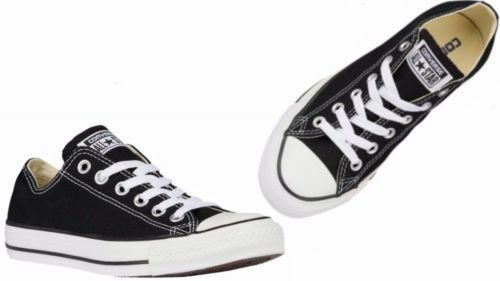 CONVERSE Men's CT Chuck Taylor BLACK/WHITE OX Casual Summer Sneakers M9166